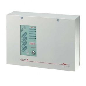 4 Zone Fire Alarm Panel Metal Casing ESP