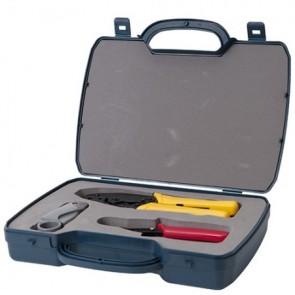 RG59 Crimping Tool Crimper Rotary, Stripper & Cutter