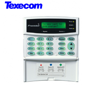 Texecom Premier LCD Keypad (DBA-0001)