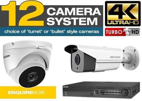 Residential CCTV Camera Package